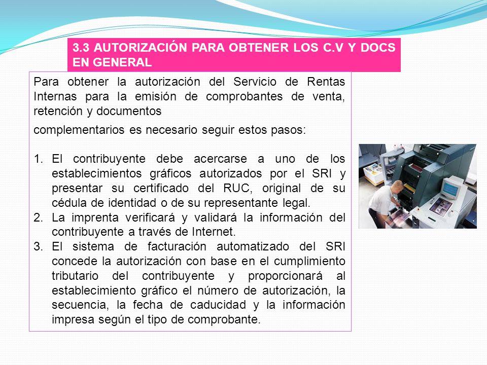 3.3 AUTORIZACIÓN PARA OBTENER LOS C.V Y DOCS EN GENERAL