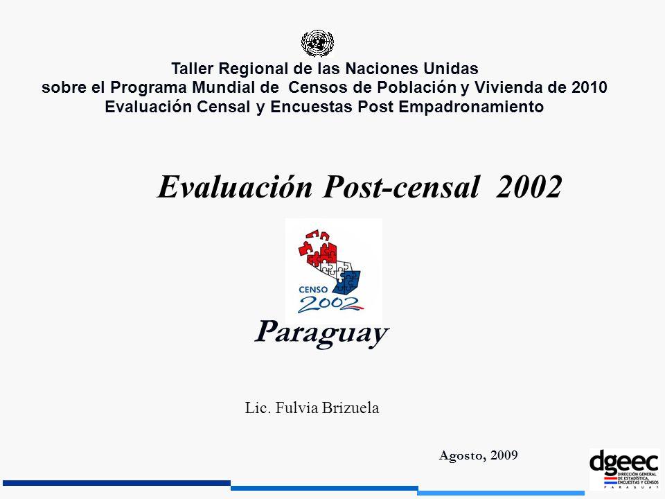 Evaluación Post-censal 2002