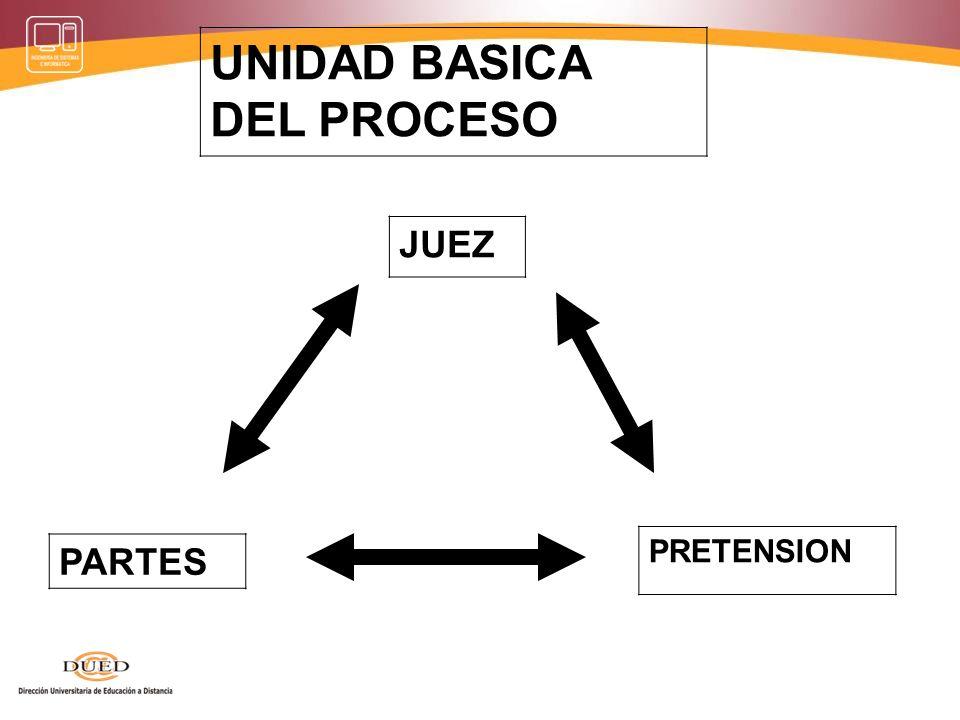 UNIDAD BASICA DEL PROCESO