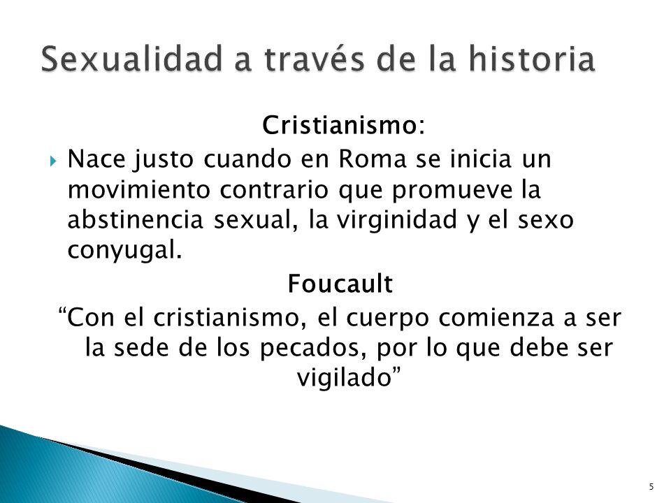 Sexualidad a través de la historia