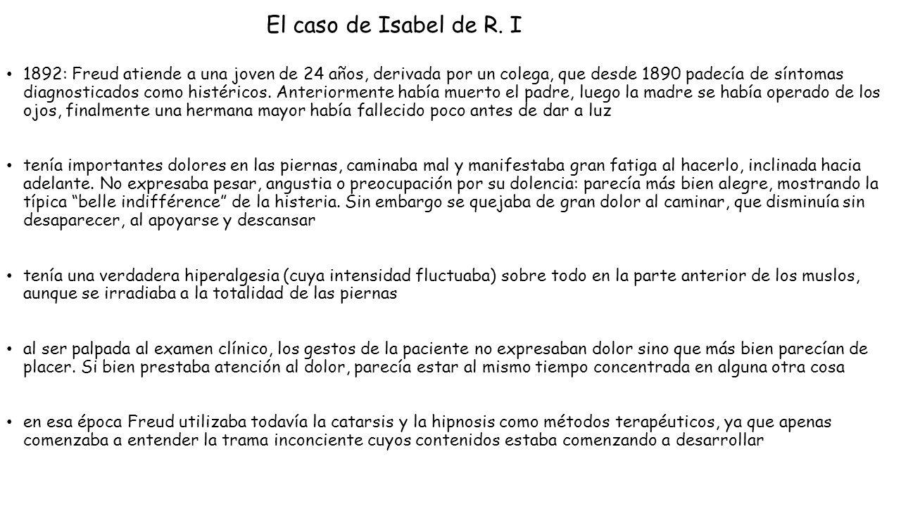 El caso de Isabel de R. I