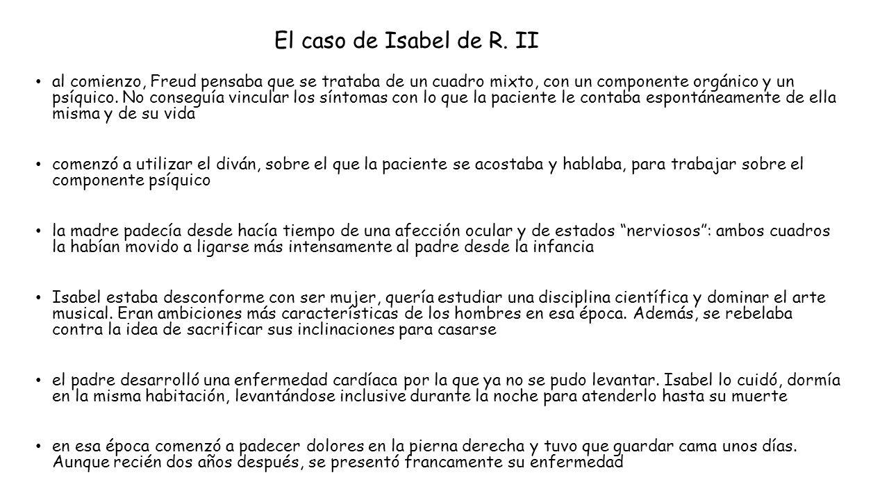 El caso de Isabel de R. II