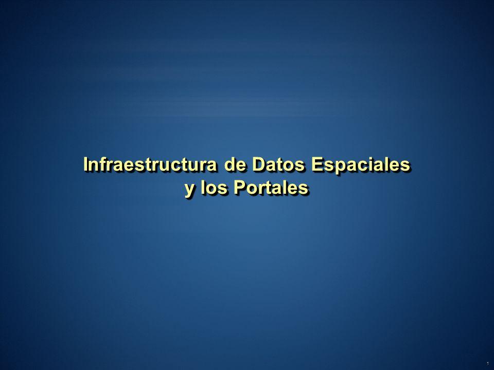 Infraestructura de Datos Espaciales y los Portales