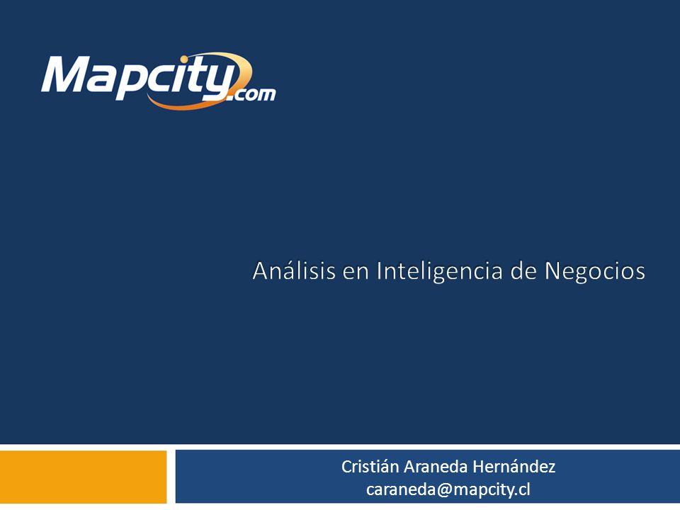 Análisis en Inteligencia de Negocios