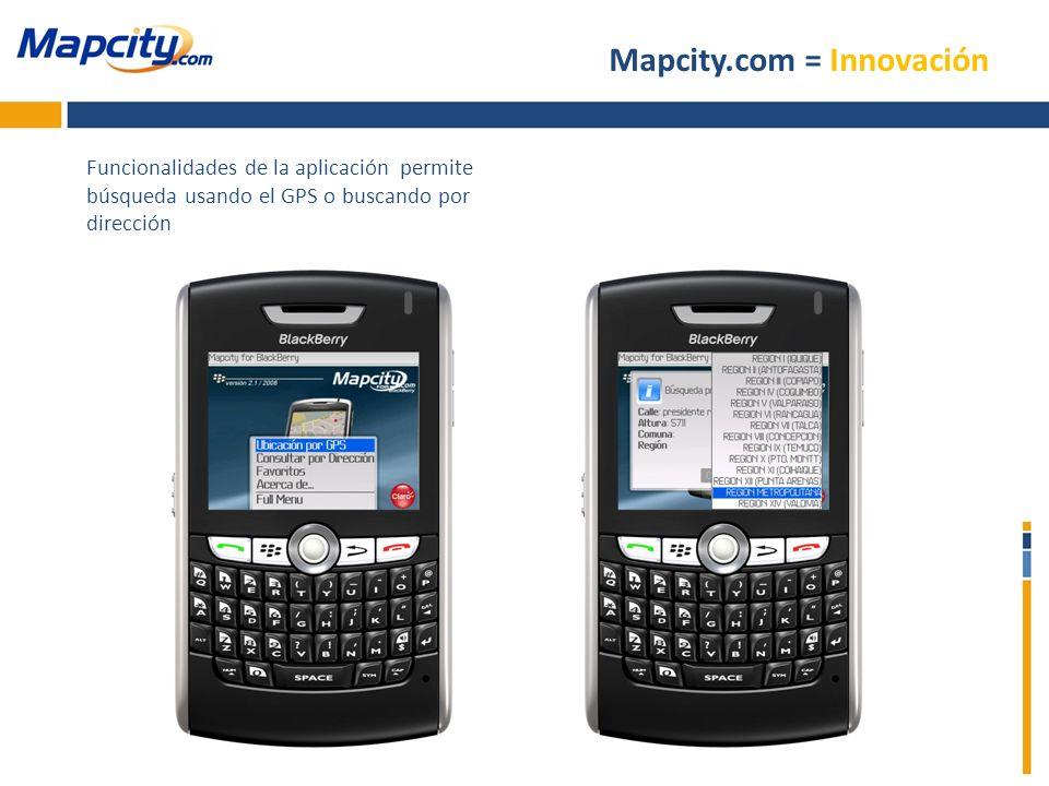 Mapcity.com = Innovación