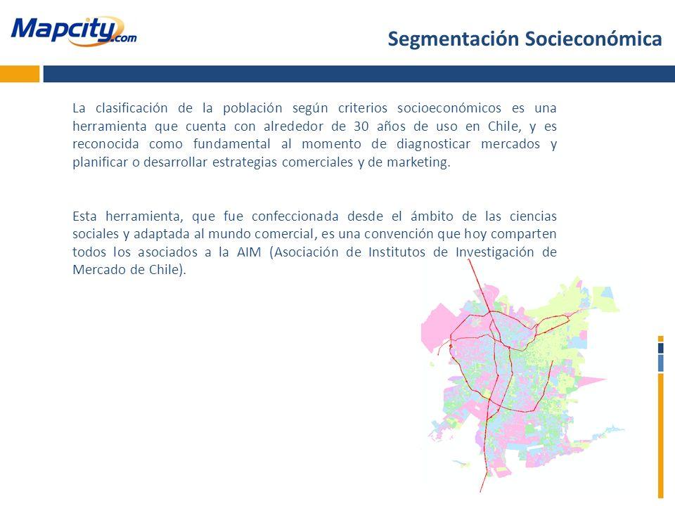 Segmentación Socieconómica