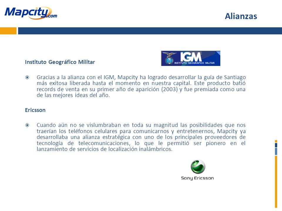 Alianzas Instituto Geográfico Militar