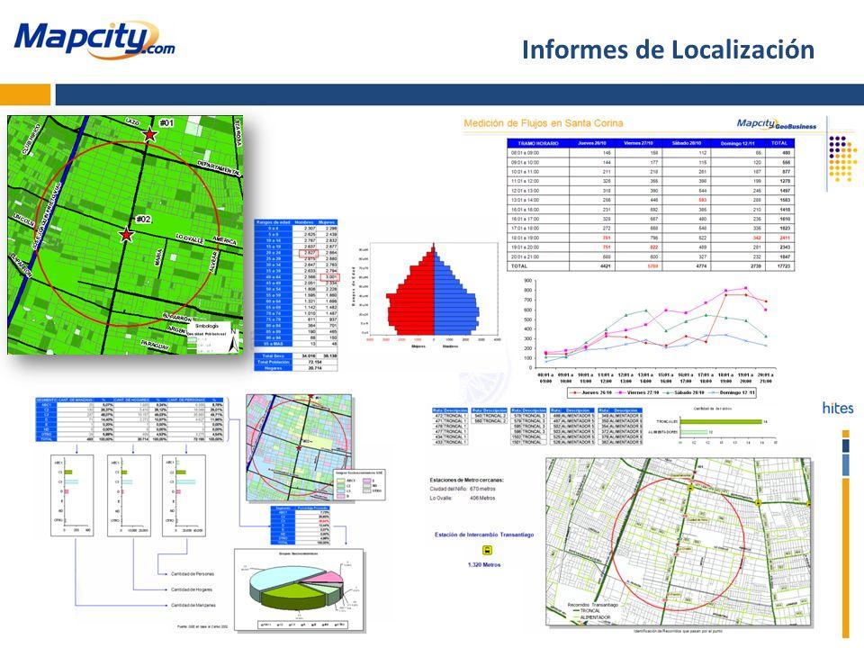 Informes de Localización