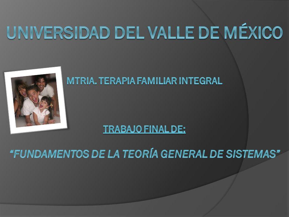 Universidad del Valle de México Mtria