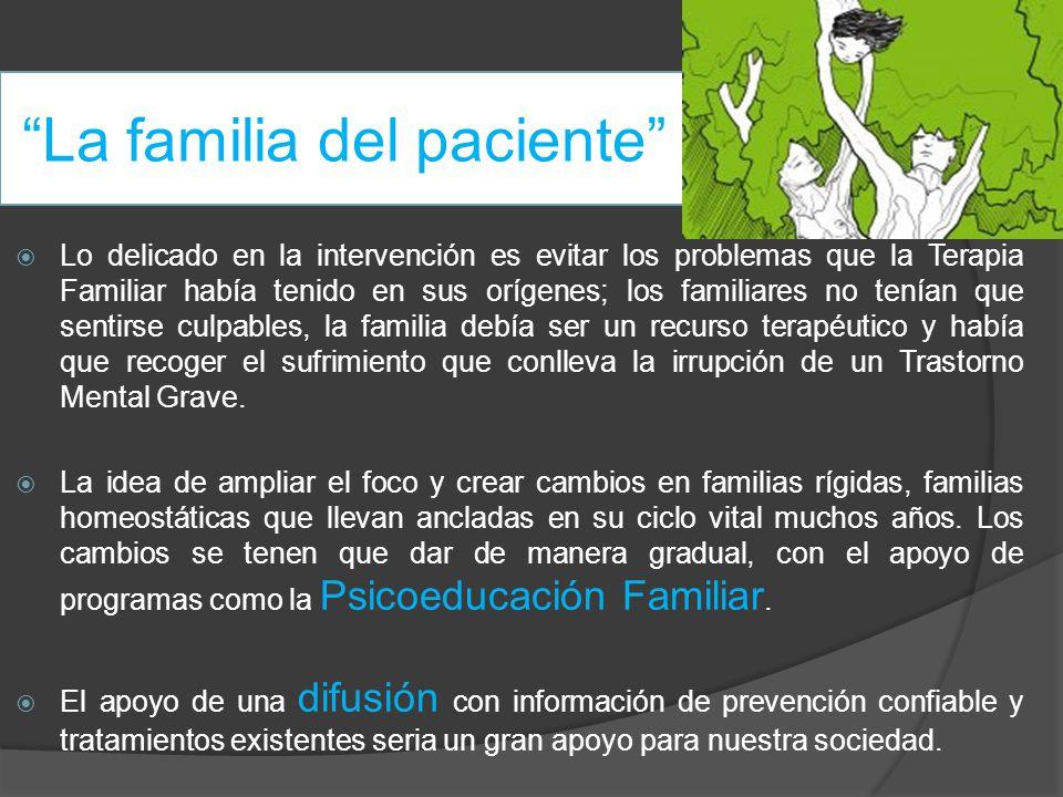 La familia del paciente