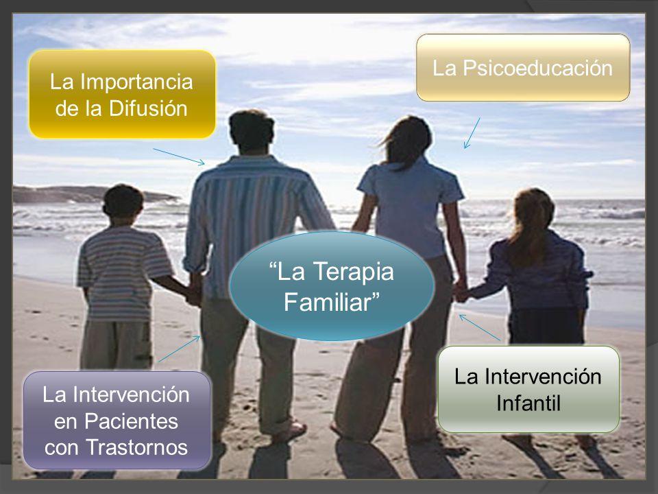 La Terapia Familiar La Psicoeducación La Importancia de la Difusión