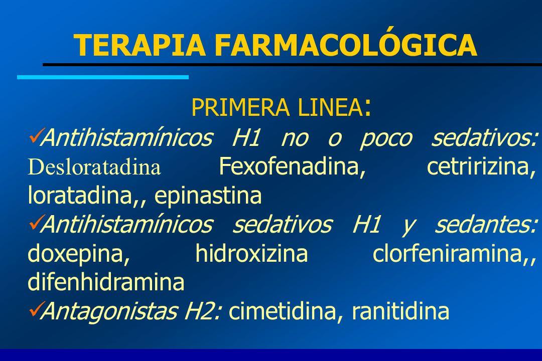 TERAPIA FARMACOLÓGICA