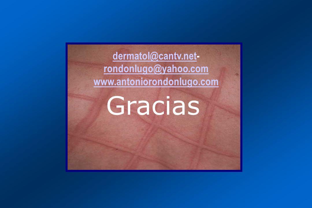 dermatol@cantv.net- rondonlugo@yahoo.com