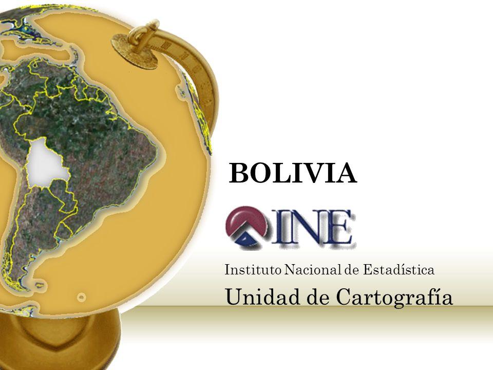 Instituto Nacional de Estadística Unidad de Cartografía