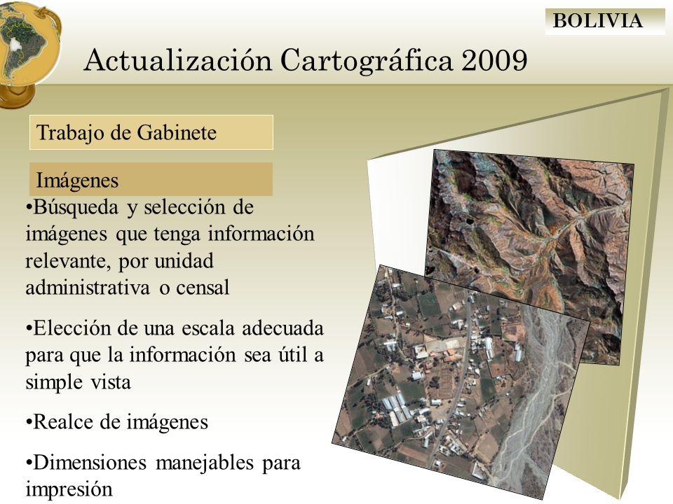 Actualización Cartográfica 2009