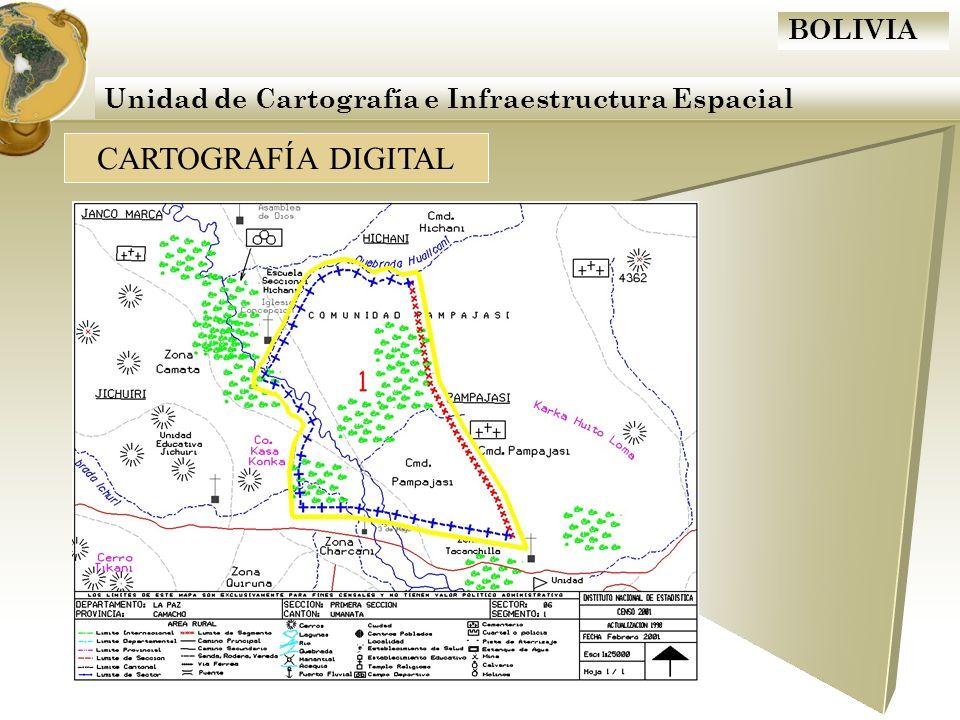 Unidad de Cartografía e Infraestructura Espacial