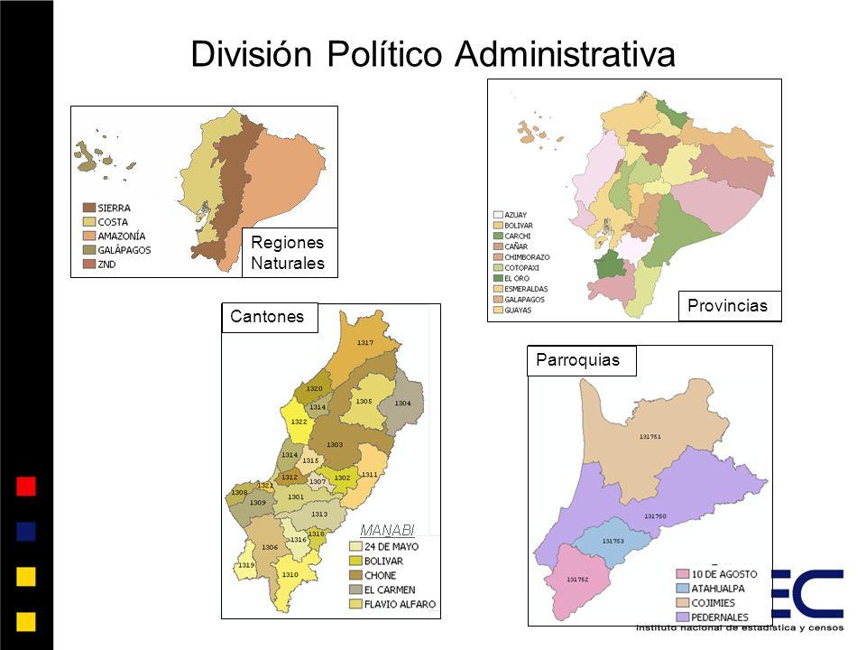 División Político Administrativa