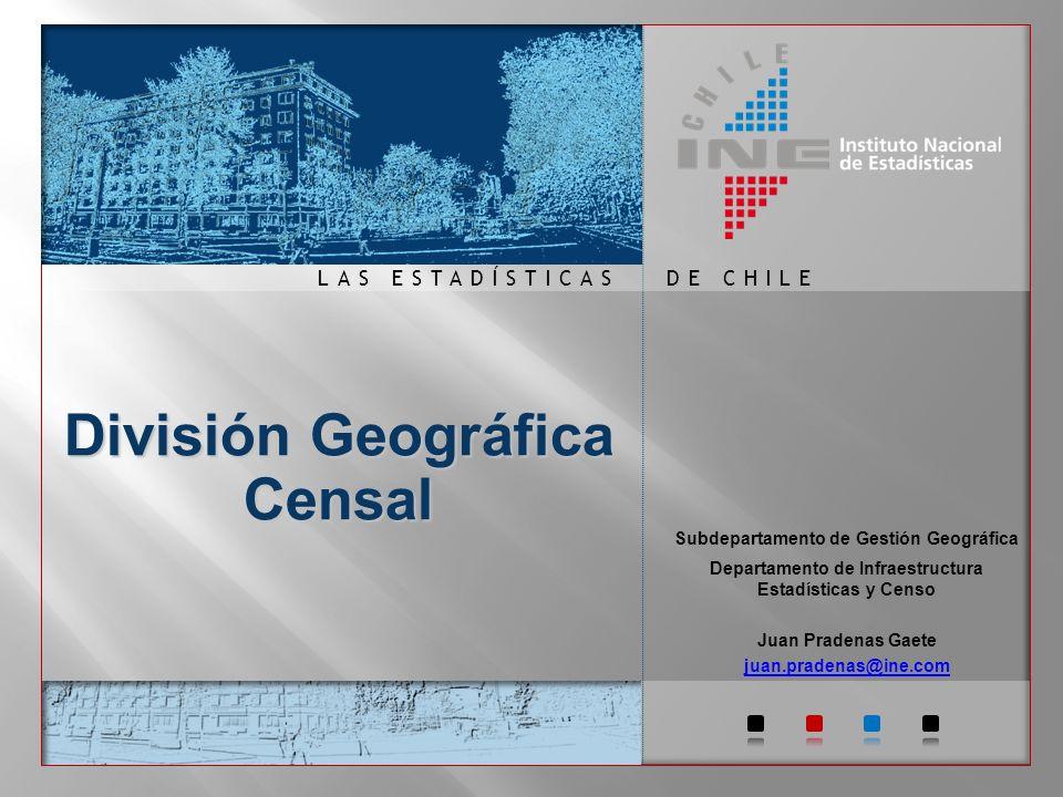 División Geográfica Censal