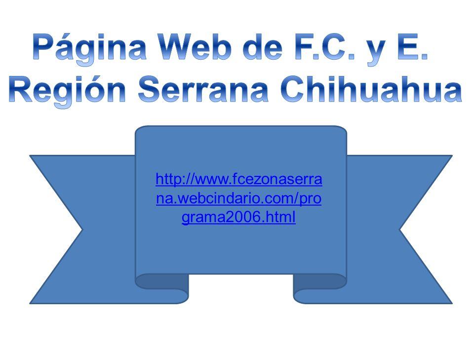 Región Serrana Chihuahua