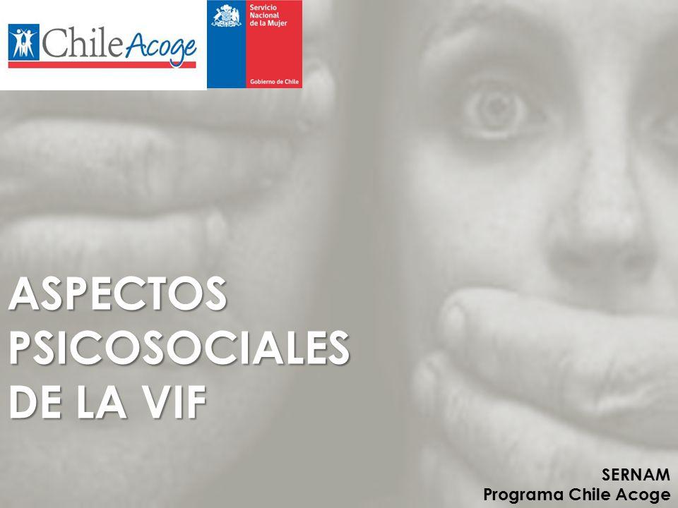 ASPECTOS PSICOSOCIALES DE LA VIF
