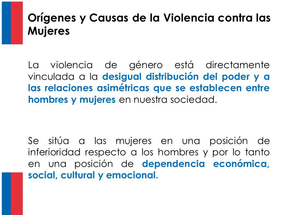 Orígenes y Causas de la Violencia contra las Mujeres
