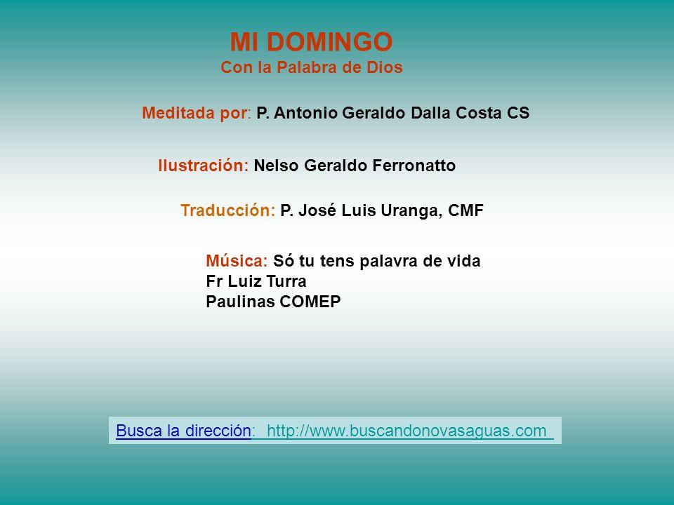 Traducción: P. José Luis Uranga, CMF