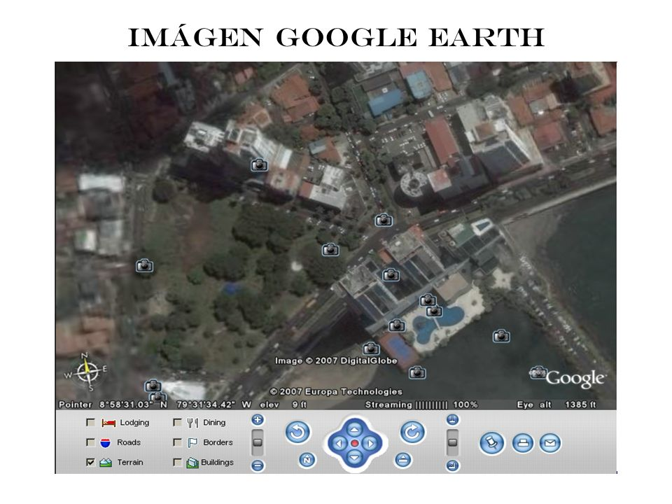 IMÁGEN GOOGLE EARTH
