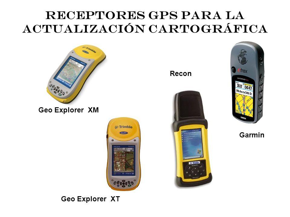 RECEPTORES GPS PARA LA ACTUALIZACIÓN CARTOGRÁFICA