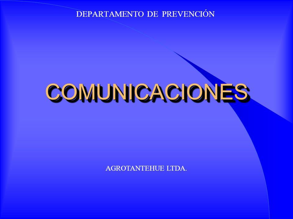 DEPARTAMENTO DE PREVENCIÓN