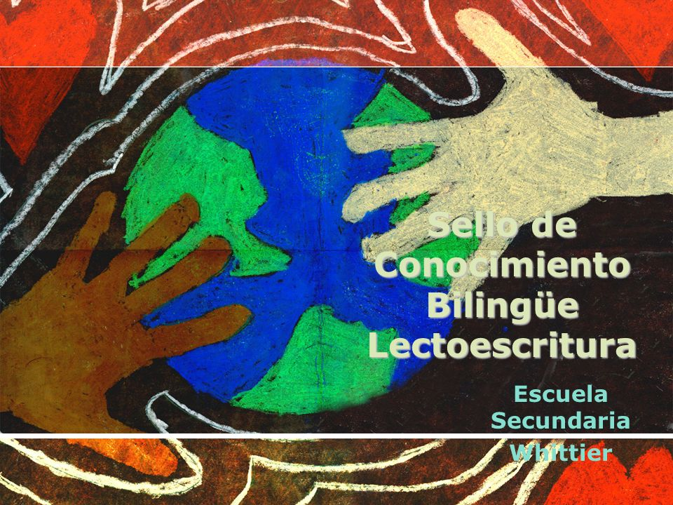 Sello de Conocimiento Bilingüe Lectoescritura