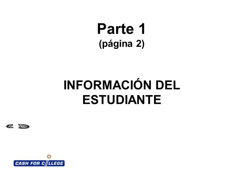 INFORMACIÓN DEL ESTUDIANTE