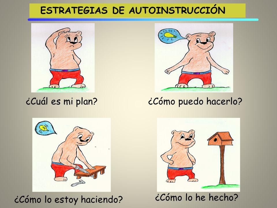 ESTRATEGIAS DE AUTOINSTRUCCIÓN