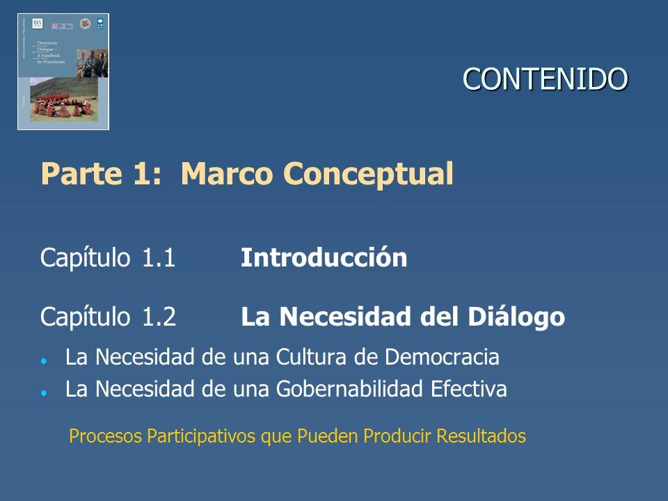 Parte 1: Marco Conceptual