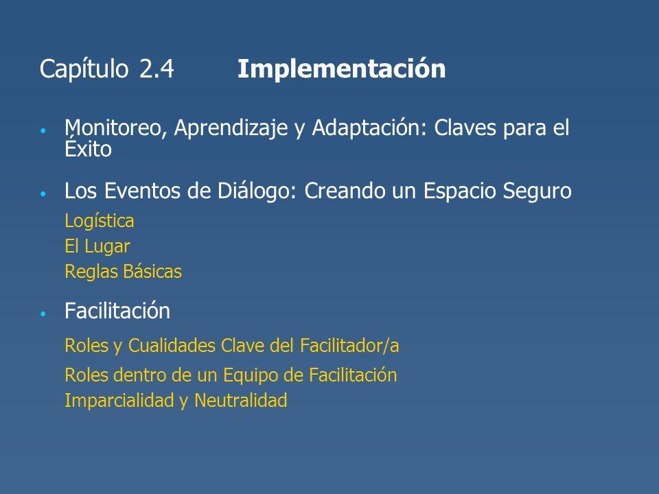 Roles y Cualidades Clave del Facilitador/a