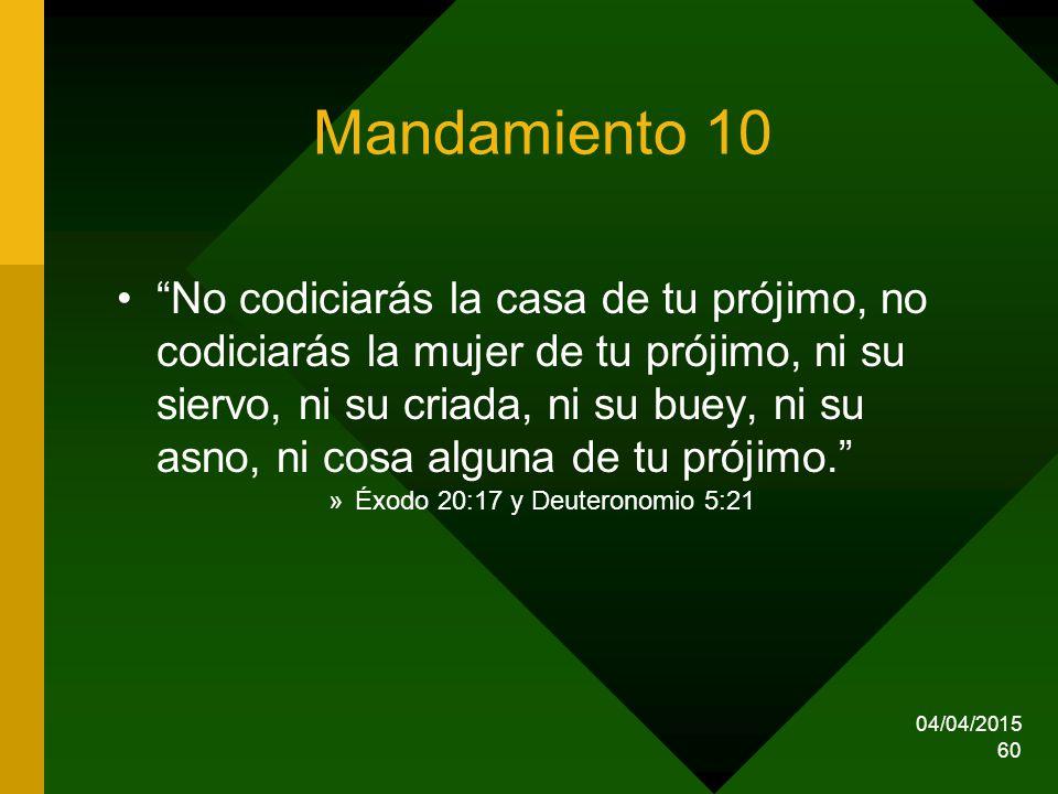 Mandamiento 10