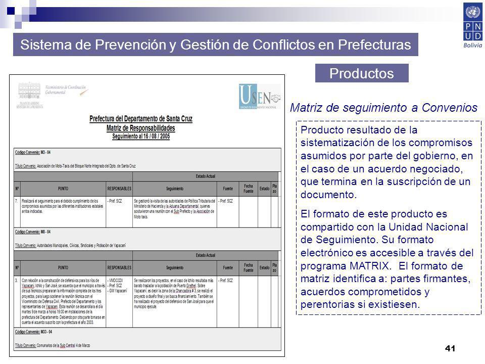 Sistema de Prevención y Gestión de Conflictos en Prefecturas