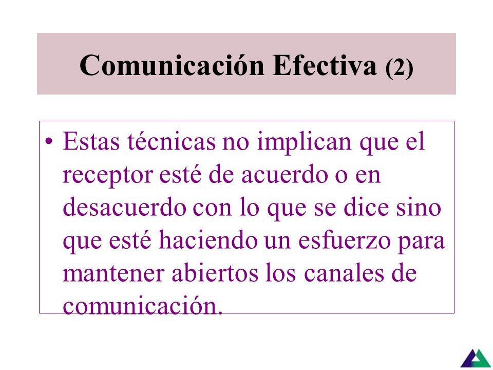 Comunicación Efectiva (2)