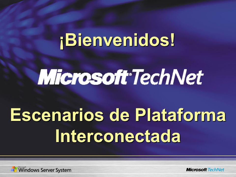 Escenarios de Plataforma Interconectada