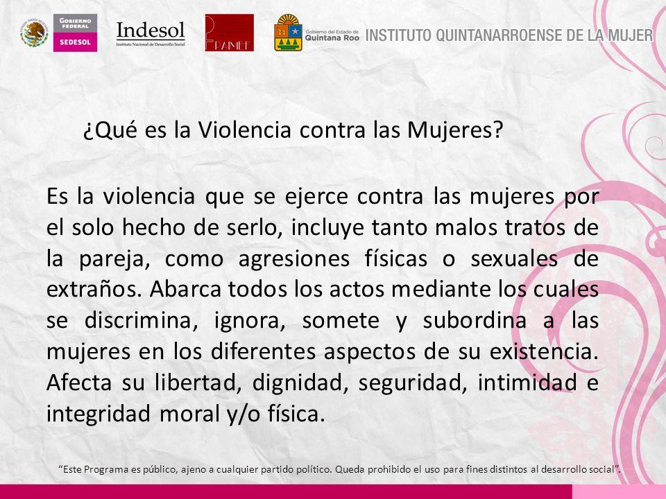 ¿Qué es la Violencia contra las Mujeres