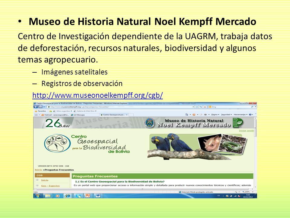 Museo de Historia Natural Noel Kempff Mercado