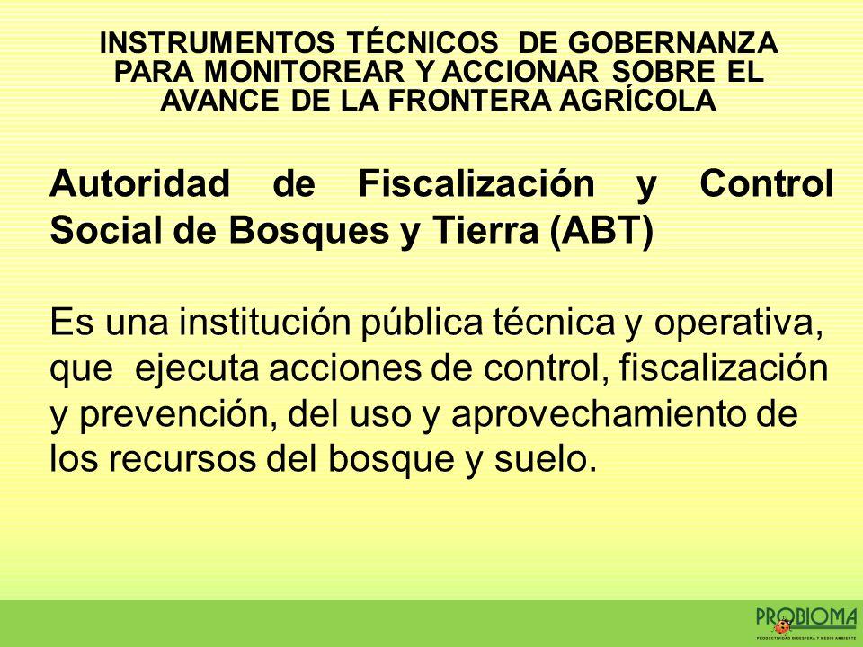 Autoridad de Fiscalización y Control Social de Bosques y Tierra (ABT)