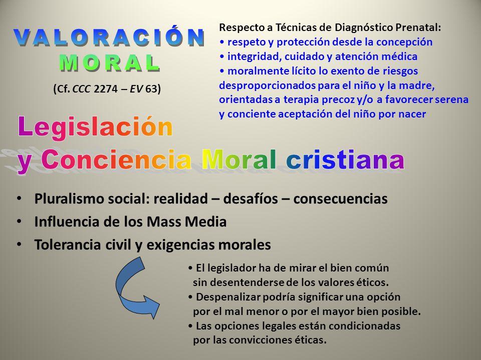 y Conciencia Moral cristiana