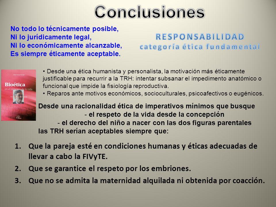 Conclusiones RESPONSABILIDAD