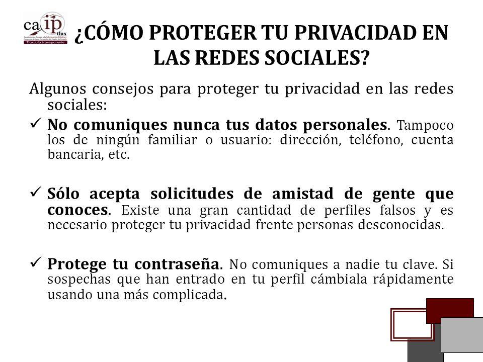 ¿CÓMO PROTEGER TU PRIVACIDAD EN LAS REDES SOCIALES