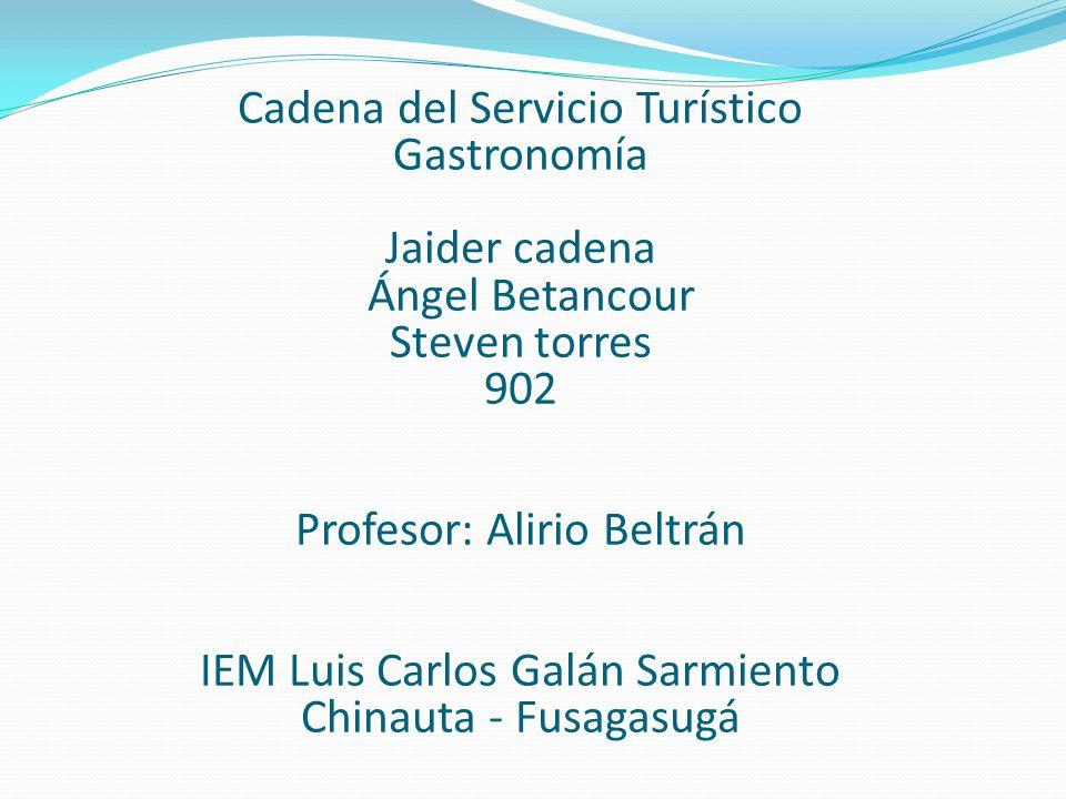 Profesor: Alirio Beltrán IEM Luis Carlos Galán Sarmiento