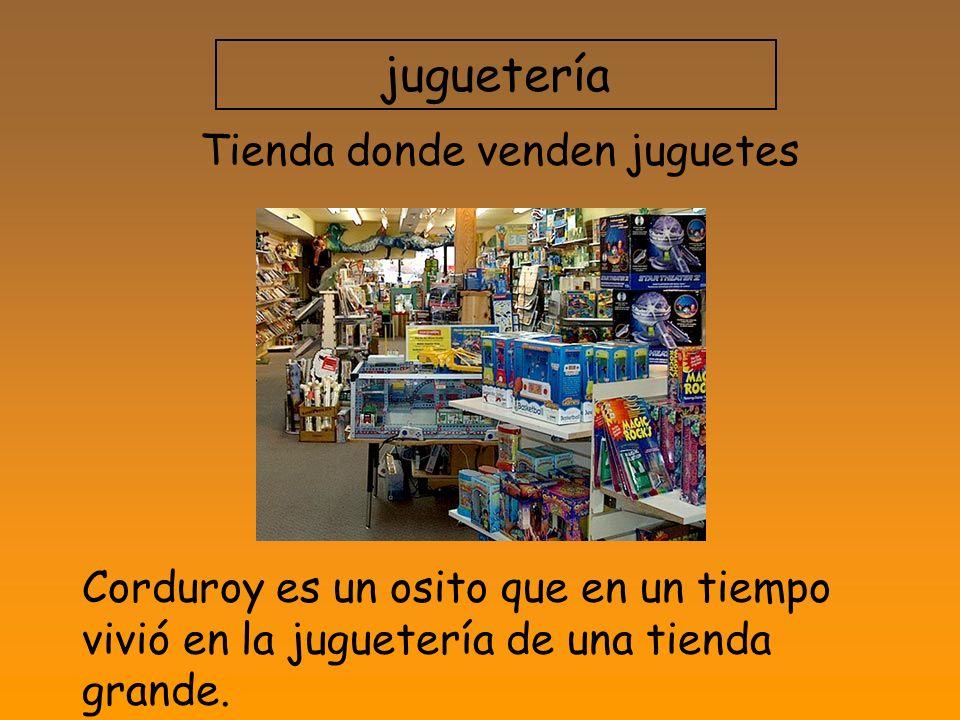 Tienda donde venden juguetes