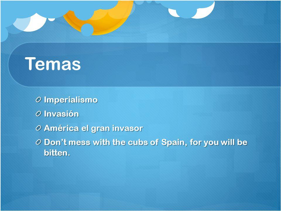 Temas Imperialismo Invasión América el gran invasor