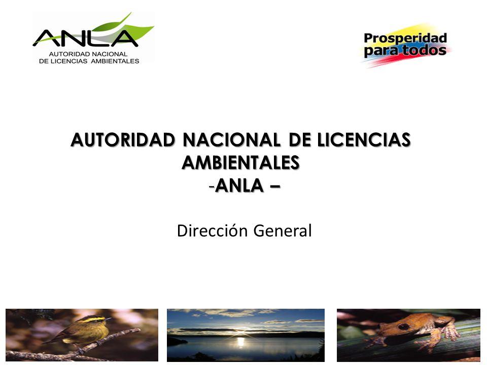 AUTORIDAD NACIONAL DE LICENCIAS