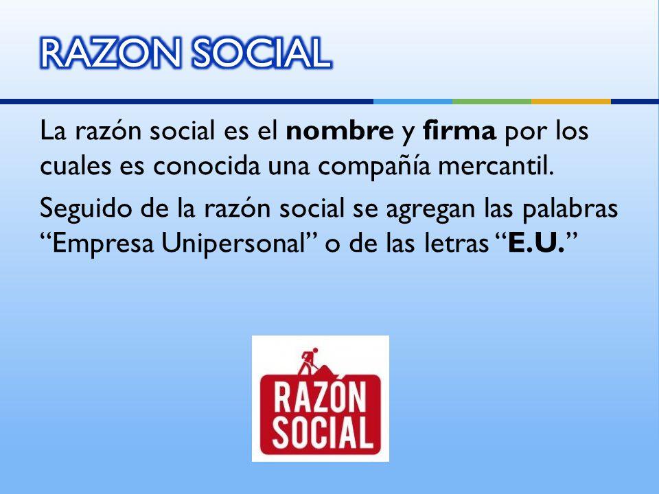 RAZON SOCIAL