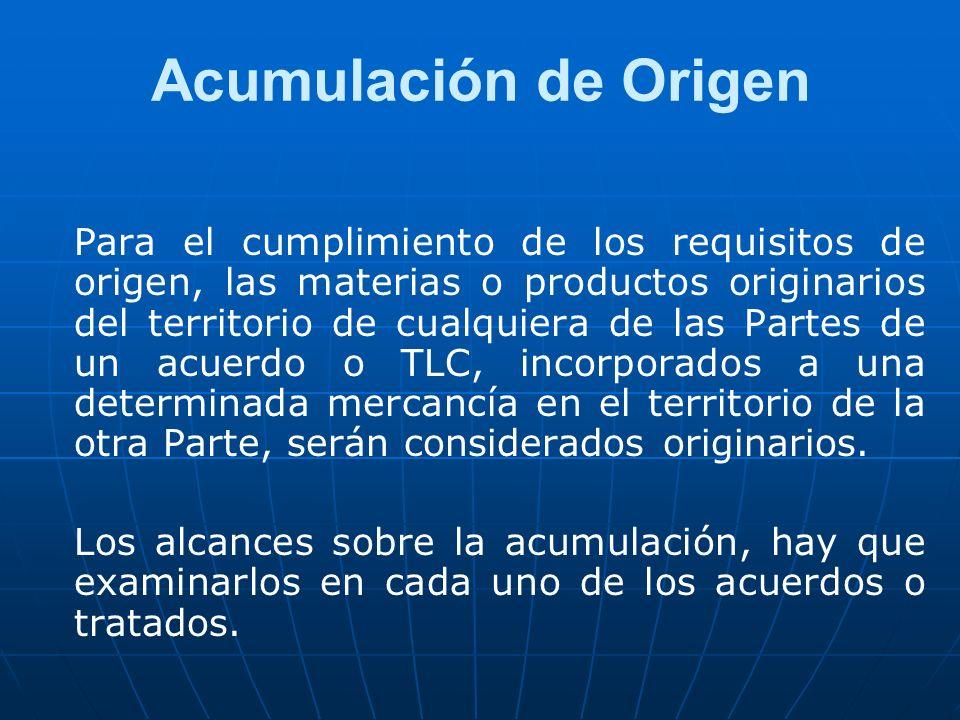 Acumulación de Origen